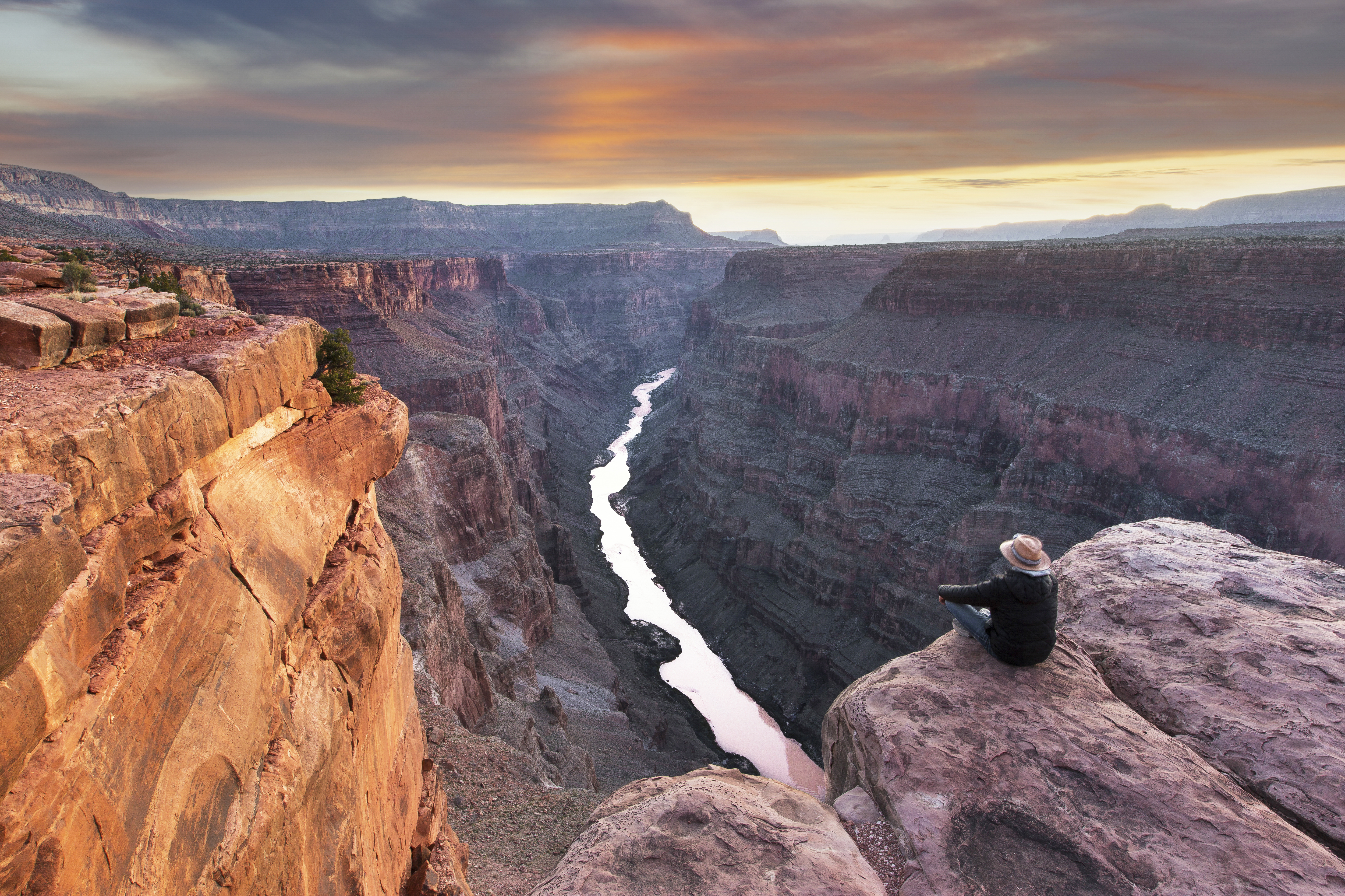 item 12 of Gallery image - Grand Canyon Sunset