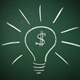 Bombillo de la buena idea ahorra dinero
