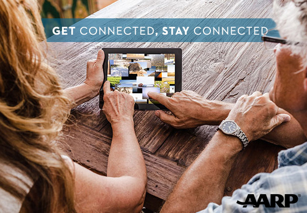Get connected, stay connected