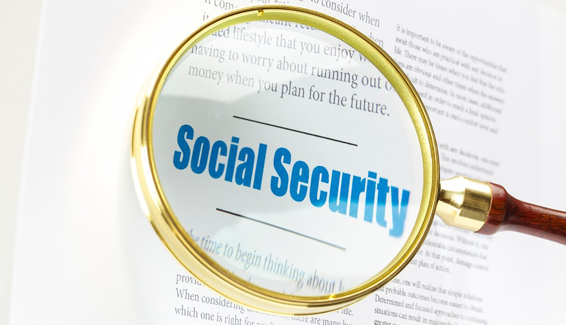 Social Security Magnifying Glass