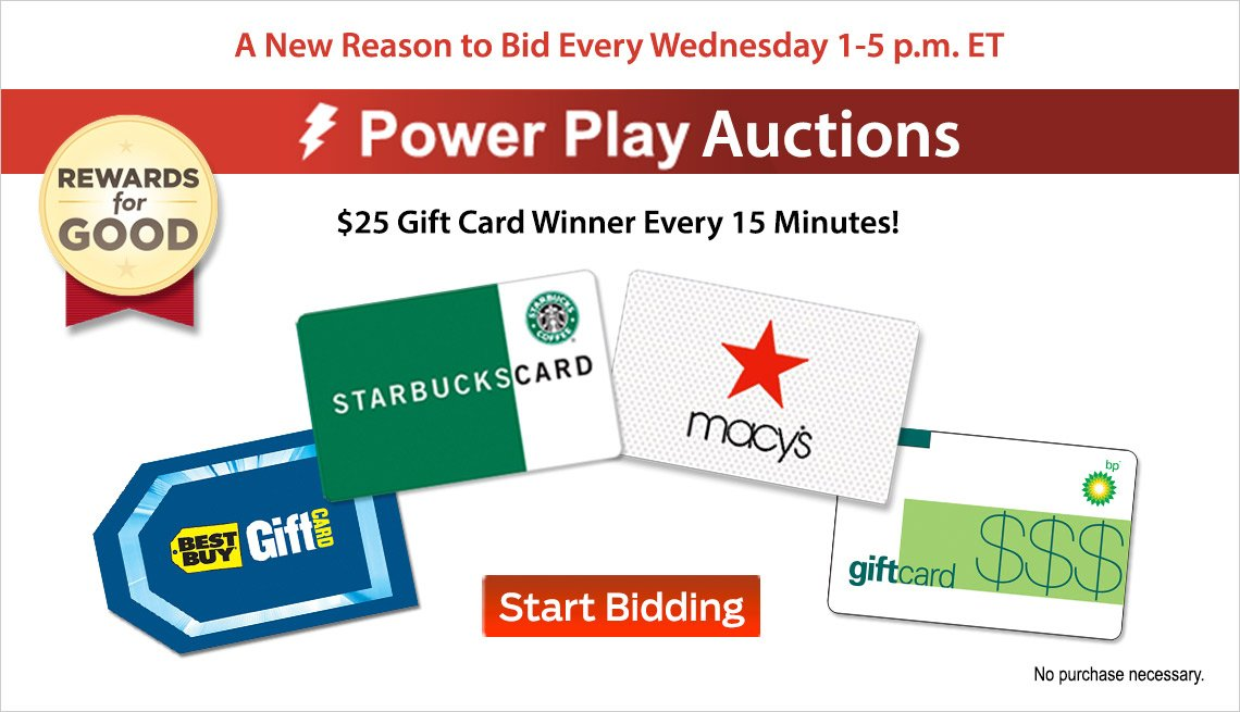 Power Play Auctions Are Back