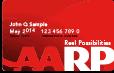 AARP Member Card