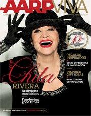 Chita Rivera, Portada invierno 2011