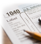 Pencil on IRS Form 1040, Tax preparation