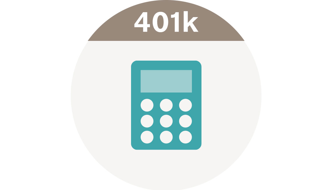 Individual 401k Calculator icon