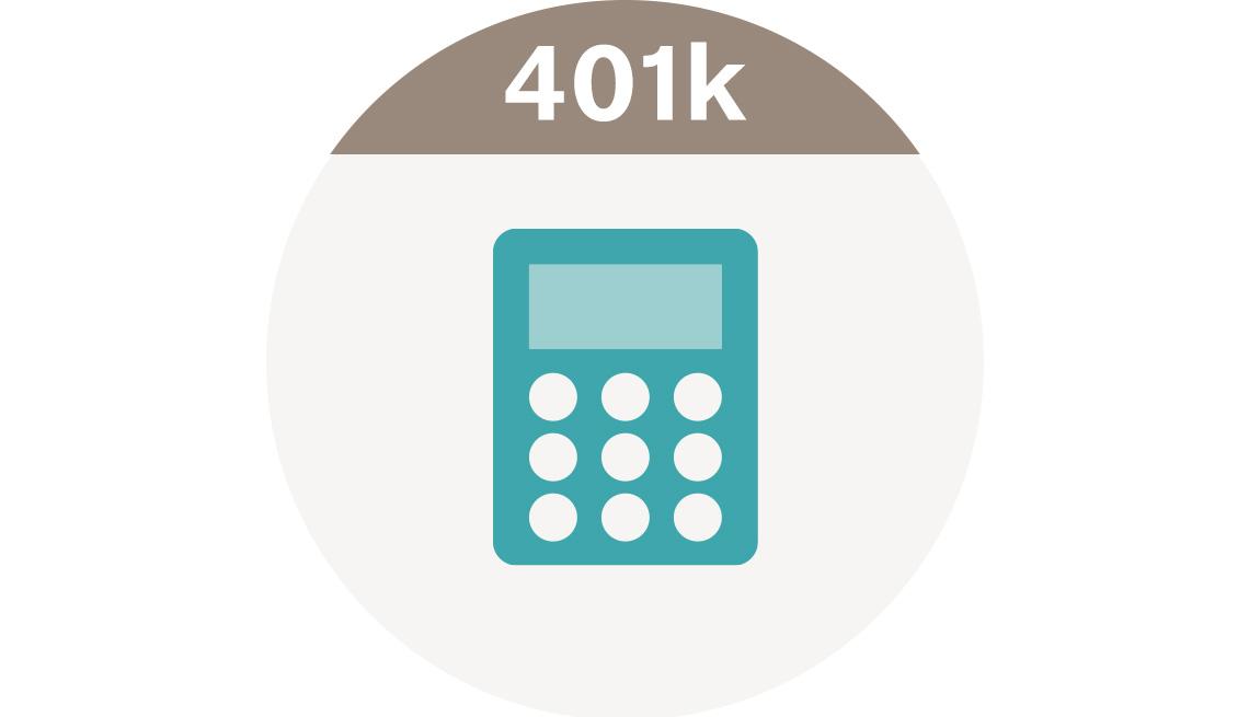 401 K Savings Calculator Tools Icon