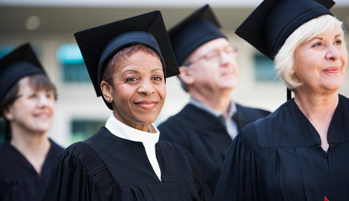 Good College grants for older adults think