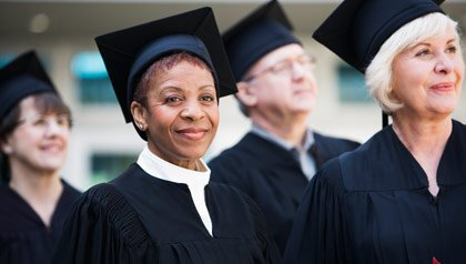 Senior students graduate-AARP Foundation Scholarship Opportunities