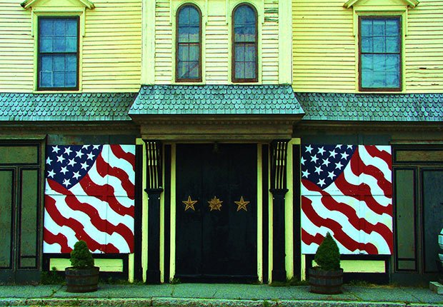 Two Flags by Christopher Woods. 2014 Calendar Contest Winners.