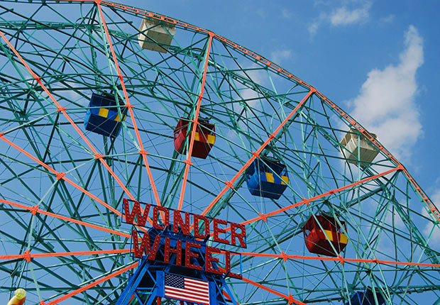 Wonder Wheel by Janet DeMatteis. 2014 Calendar Contest Winners.