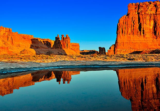 May Morning in Arches National Park by Stephen Pavkovic. 2014 Calendar Contest Winners.