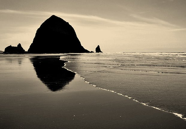 Cannon Beach, Oregon by David Skinner. 2014 Calendar Contest Winners.