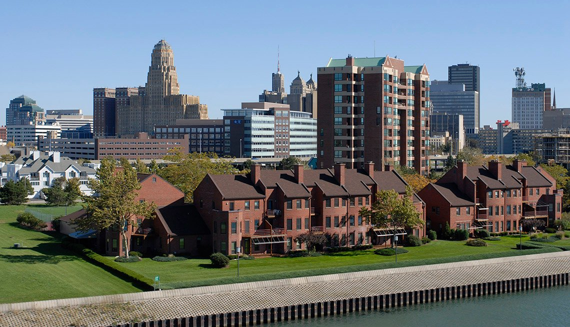 Buffalo, New York, Waterfront,  AARP Foundation Experience Corps Cities