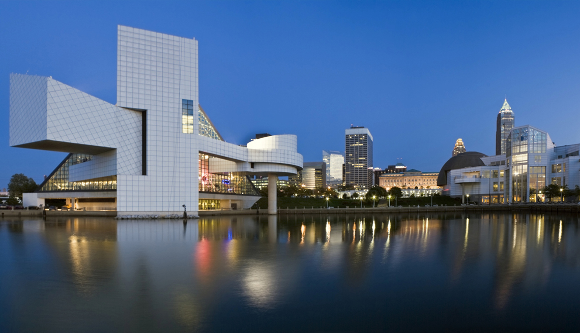 Cleveland at Night, Reflections, AARP Foundation Experience Corps Cities