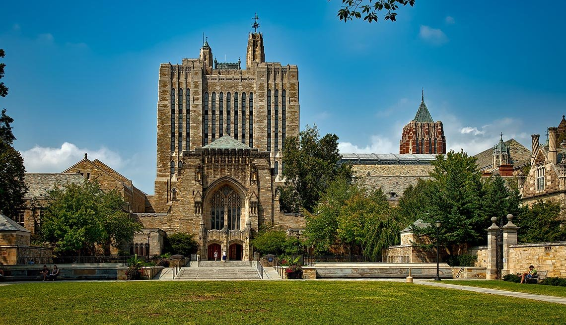 Sterling Memorial Library, Yale University, New Haven, AARP Foundation Experience Corps Cities