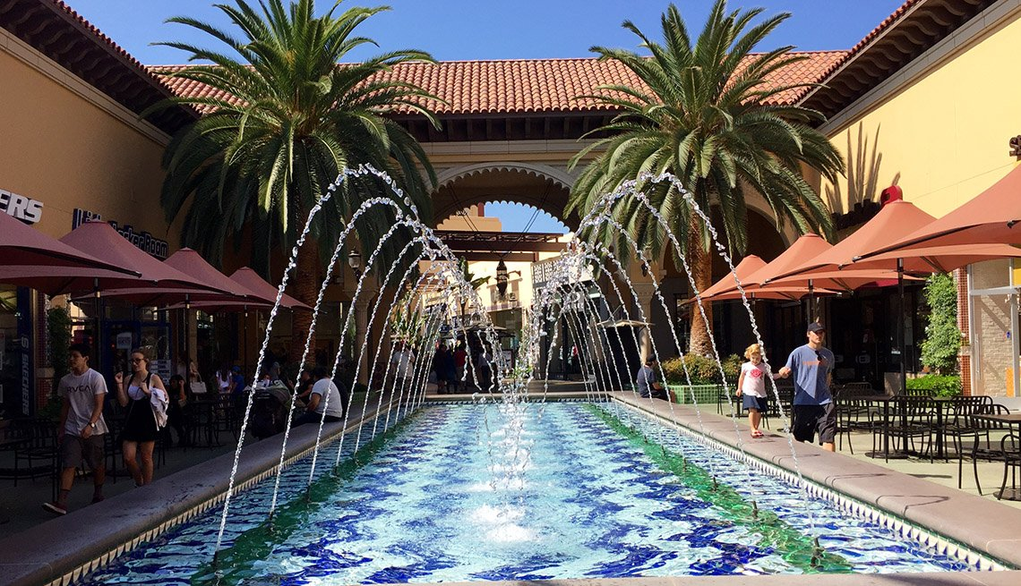 Fountain, Irvine Spectrum, Orange County, California, AARP Foundation Experience Corps Cities
