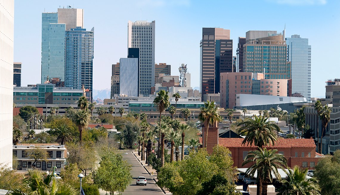 Phoenix, Arizona, Buildings, Mission,  AARP Foundation Experience Corps Cities