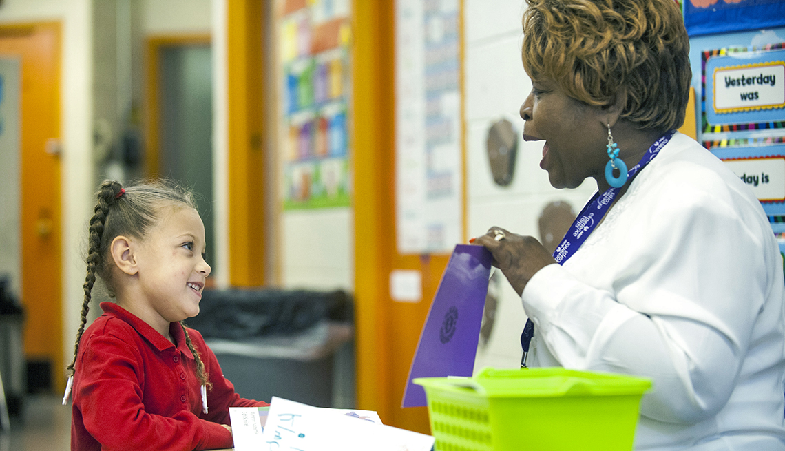 Callie Ellis, Kimani, Philadelphia, Woman and Child Read, AARP Foundation Experience Corps Stories