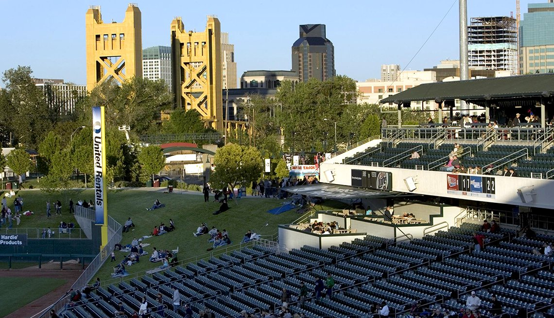 West Sacramento, Raley Field, Yolo County, AARP Foundation Experience Corps Cities