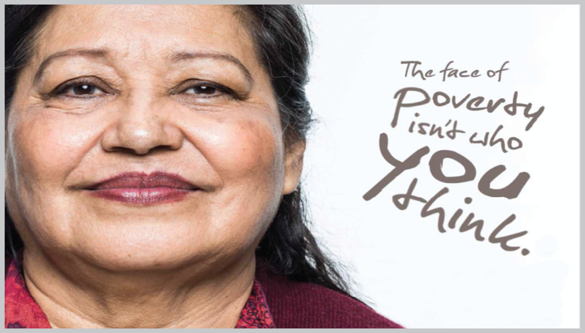older adult minority woman, the face of senior poverty isn't who you think