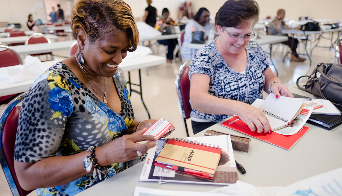 AARP Foundation BACKTOWORK50+ workshop