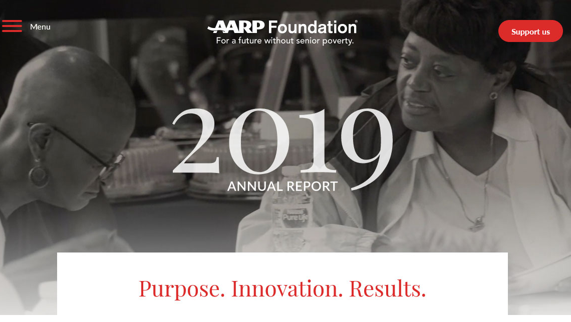 AARP Foundation 2019 Annual Report