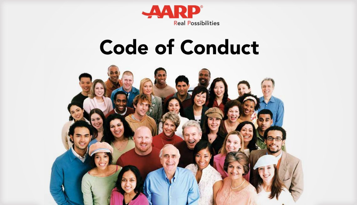 A A R P Code of Conduct report cover