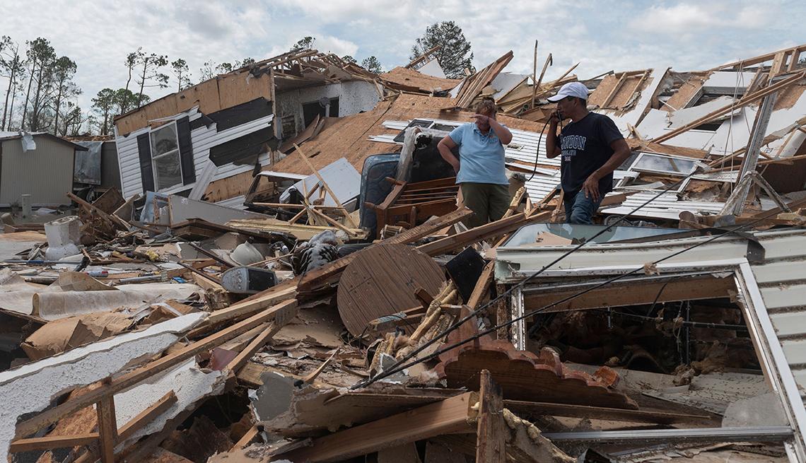 AARP Foundation Disaster Relief - Hurricane Laura - August 2020