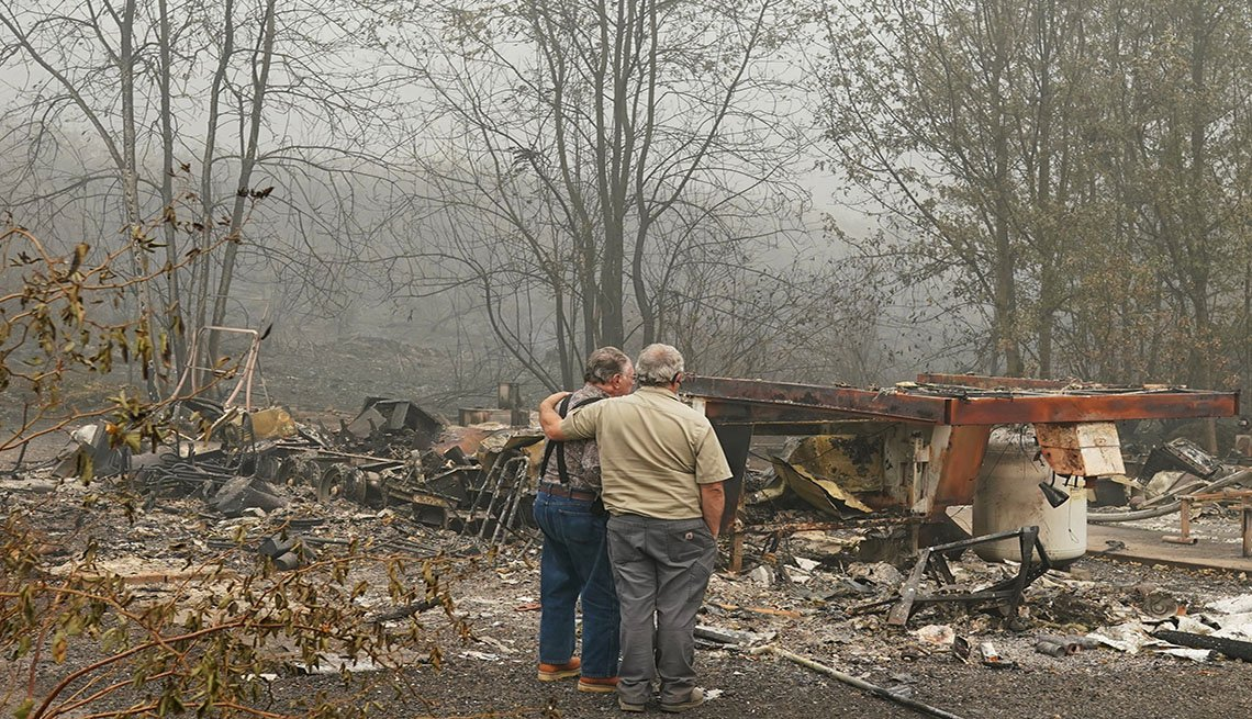 AARP Foundation Disaster Relief -Wildfires In Oregon Force Mass Evacuations And Threaten Hundreds Of Structures