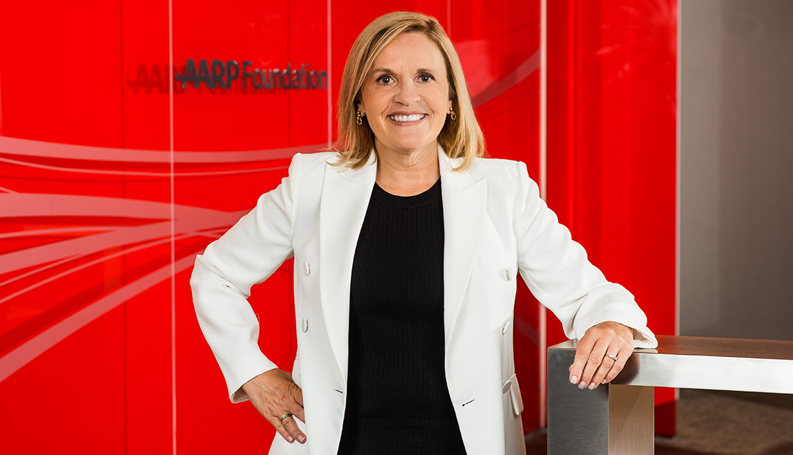 Lisa Marsh Ryerson, AARP Foundation President