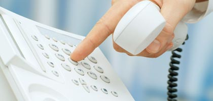 phone call, elder watch (Alamy)