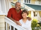 African American couple standing outside home, Create the Good