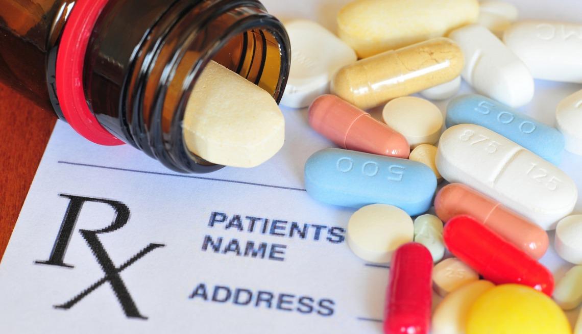 Prescription pill picture