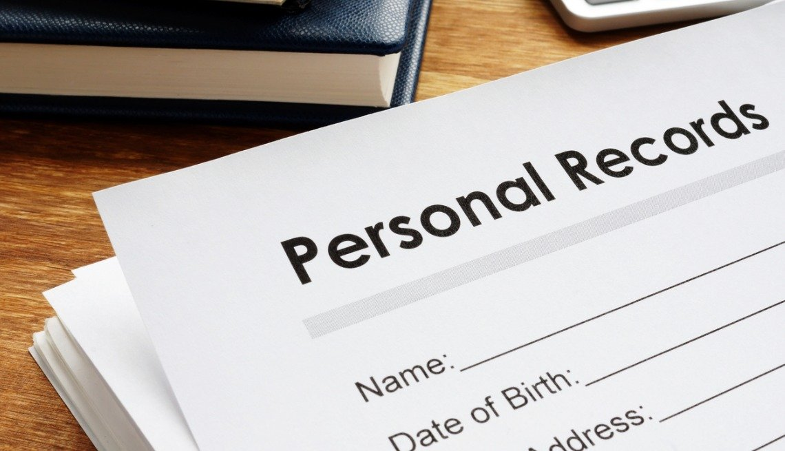 personal privacy records