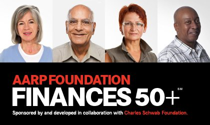 AARP Foundation Finances 50+ Program
