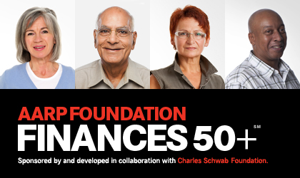 AARP Foundation Finances 50+ Program