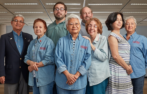Tax-Aide volunteers, group, AARP Foundation, Tax-Aide