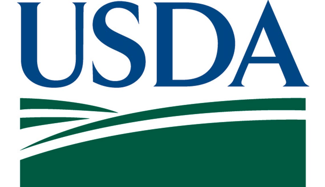 United States Department of Agriculture, USDA logo, AARP Foundation
