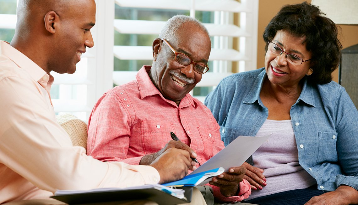African-American couple, estate planning, home, Ways to Give, AARP Foundation,