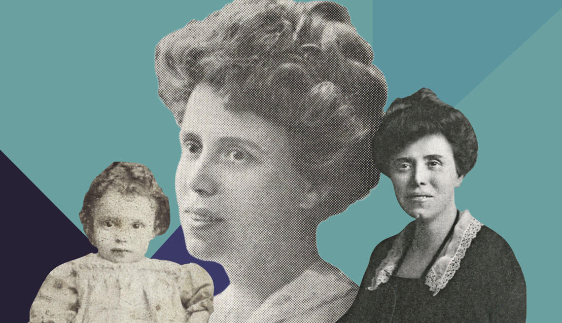 Photos of Ethel Percy Andrus in her early years