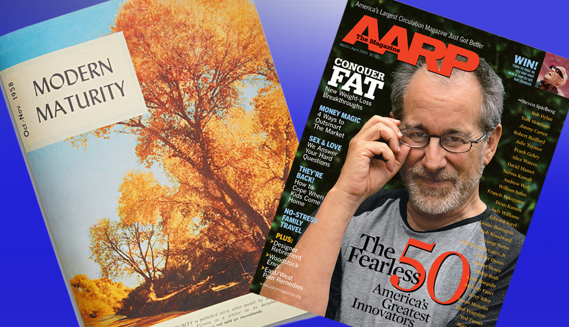 item 10 of Gallery image - Magazine covers from Modern Maturity and AARP The Magazine