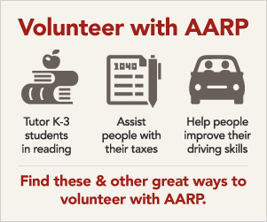 Volunteer With AARP