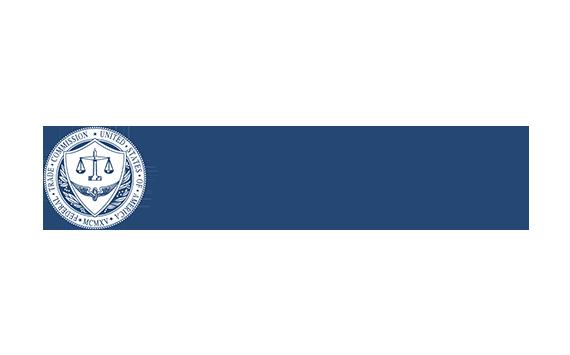 federal trade commission logo for reportfraud dot f t c dot com