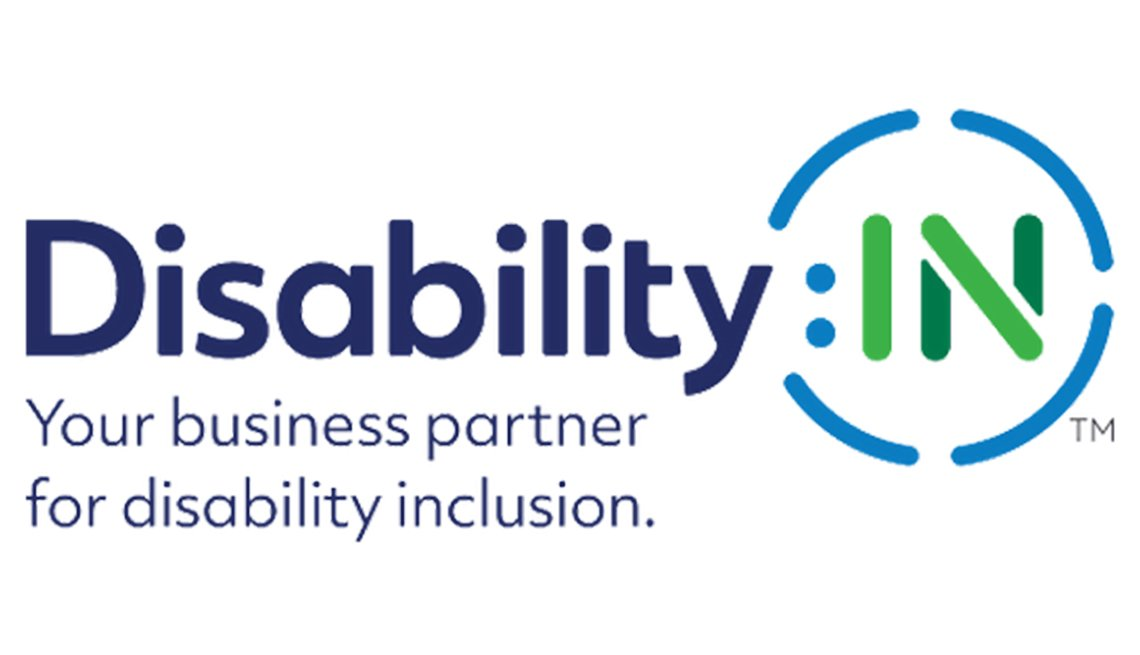 Logo for Disability: IN. Your business partner for disability inclusion.