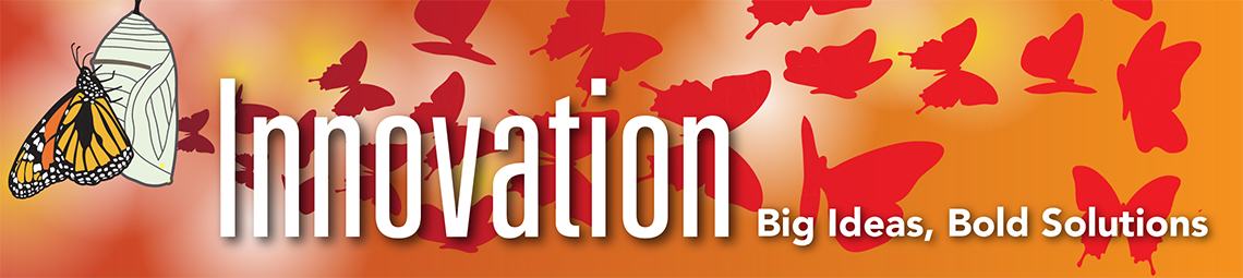 Innovation, Big Ideas, Bold Solutions banner