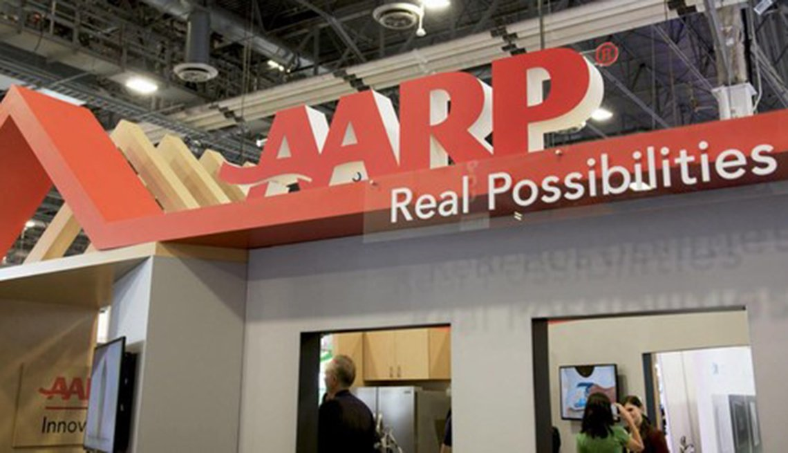 AARP Real Possibilities display