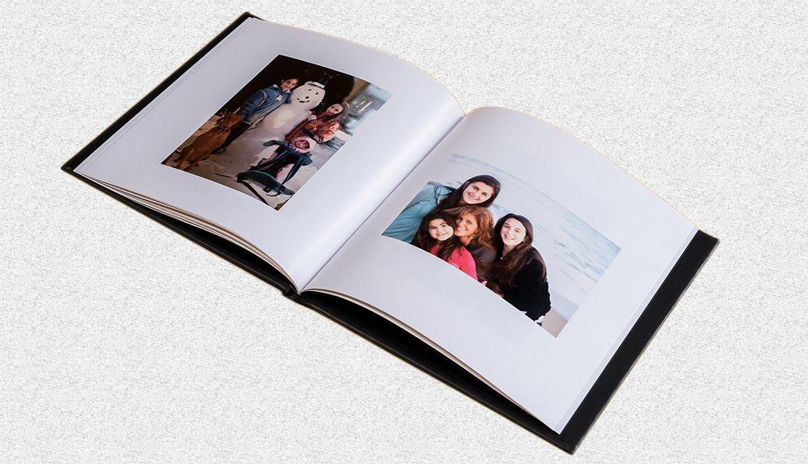 A confetti book