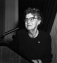 AARP Founder, Dr. Ethel Percy Andrus
