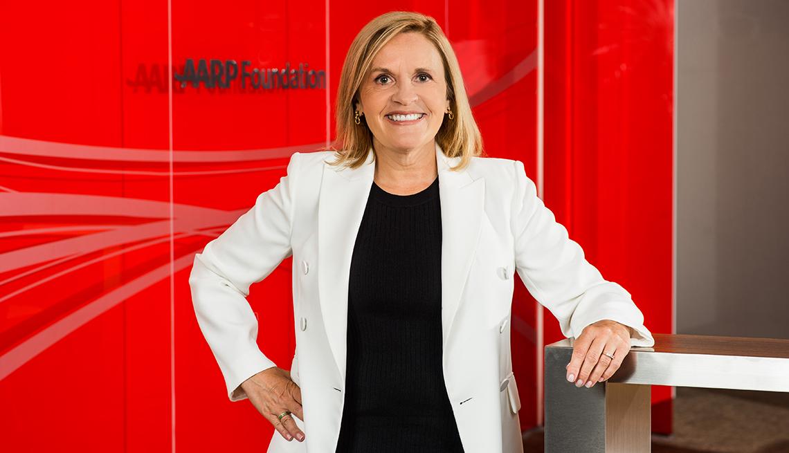 Lisa Marsh Ryerson, AARP Foundation President 2020