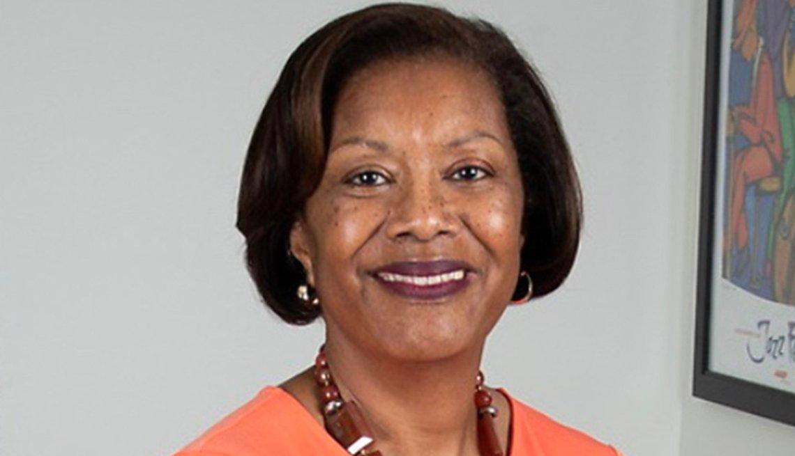 Edna Kane Williams smiling